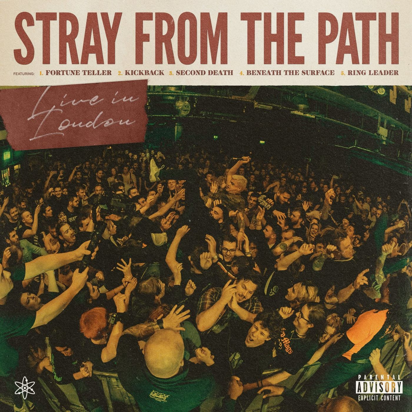 Stray From The Path - Internal Atomics: Live in London [EP] (2020)