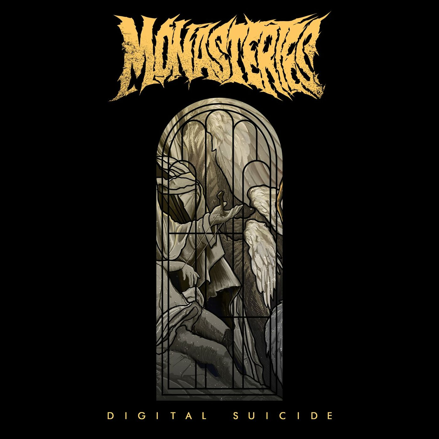 Monasteries - Digital Suicide [single] (2021)