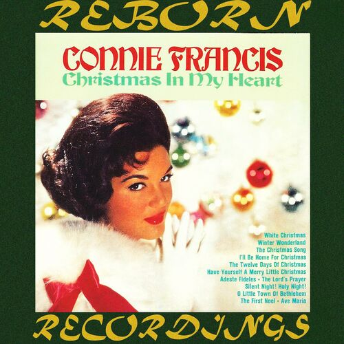 Connie Francis The Twelve Days Of Christmas.Connie Francis Christmas In My Heart Hd Remastered Music