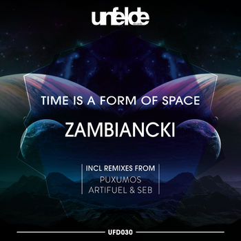 Time Is A Form Of Space cover