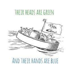 Their Heads Are Green and Their Hands Are Blue
