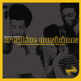 Album cover of Creative Musicians