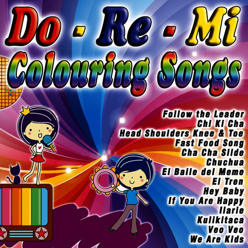 The Karaoke Little Band: Do-re-mi Colouring Songs