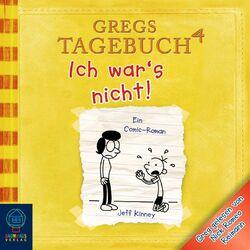 Gregs Tagebuch 4 - Ich war's nicht Audiobook