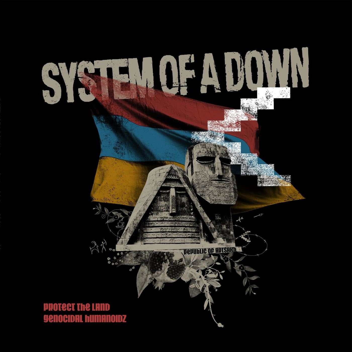 System of a Down - Protect The Land / Genocidal Humanoidz [maxi-single] (2020)