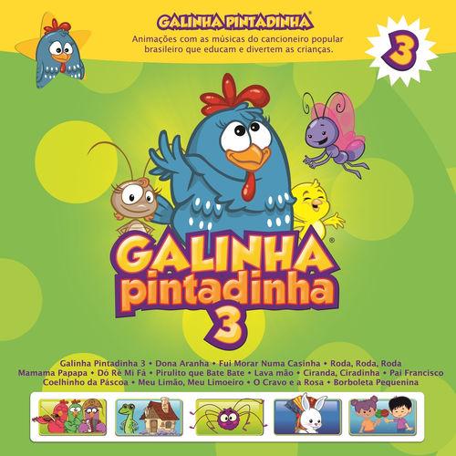 Baixar CD Galinha Pintadinha, Vol. 3 – Galinha Pintadinha (2012) Grátis