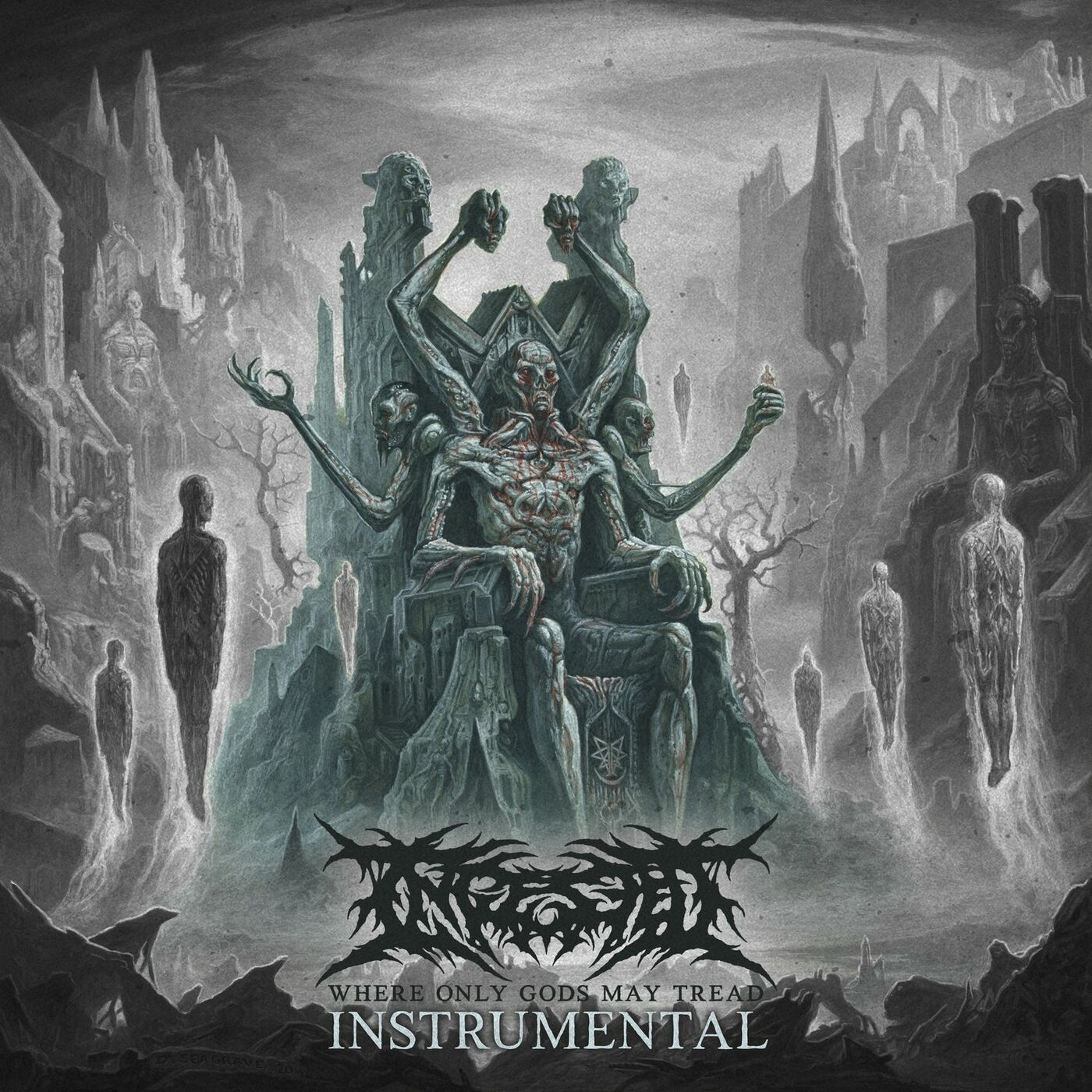 Ingested - Where Only Gods May Tread (Instrumental) (2021)
