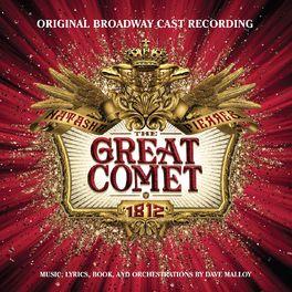 Album cover of Natasha, Pierre & the Great Comet of 1812 (Original Broadway Cast Recording)