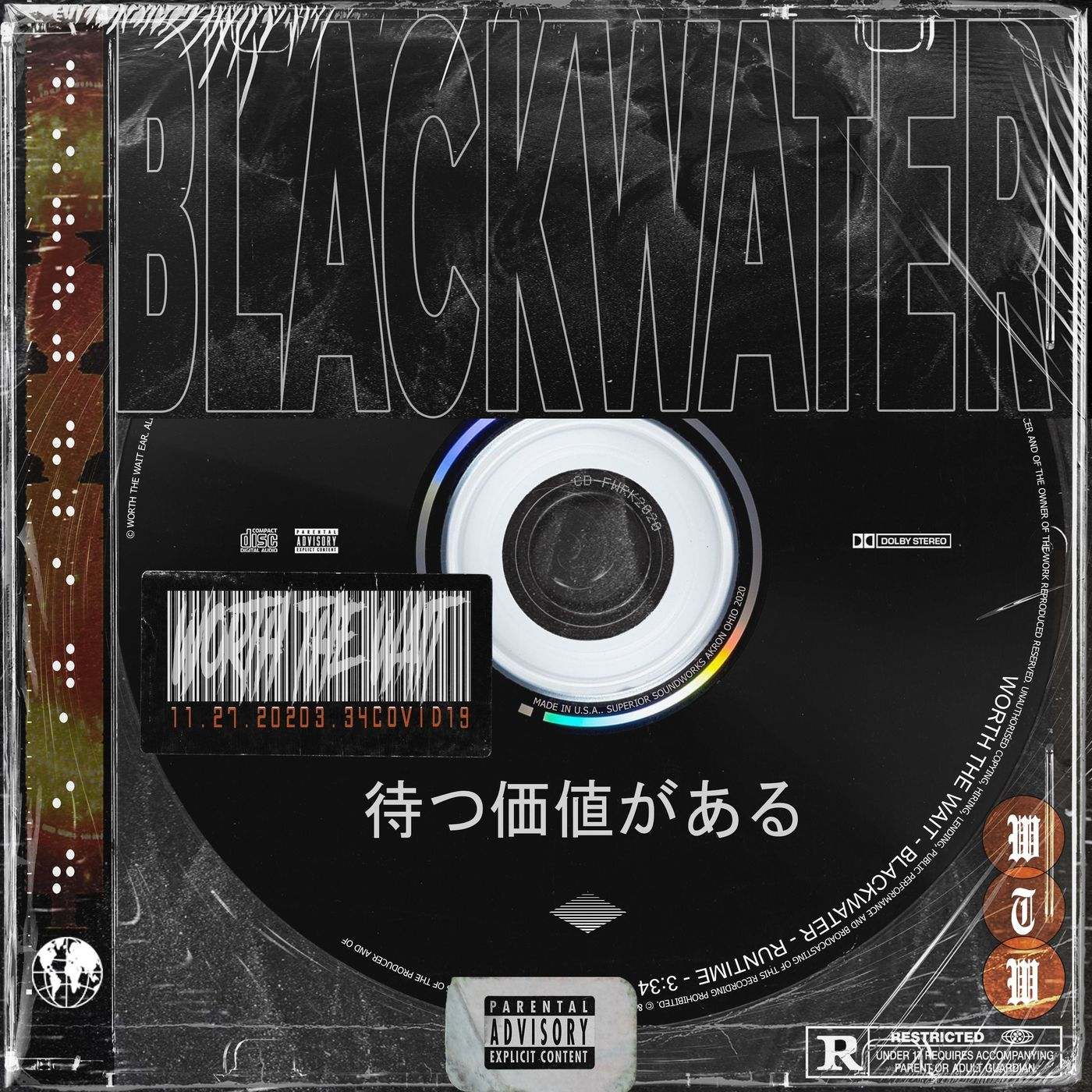 Worth The Wait - BLACKWATER [single] (2020)