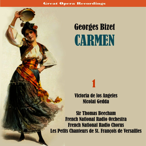 Baixar CD George Bizet: Carmen [1958], Vol. 1 – French National Radio Orchestra, French National Radio Chorus, Les Petits Chanteurs de St. François de Versailles, Bernard Plantey, Michel Hamel, Xavier Depraz, Victoria de los Angeles, Janine Micheau, Nicolai Gedda, Ernest Blanc, Denise Monteil, Monique Linval, Marcelle Croisier (2010) Grátis