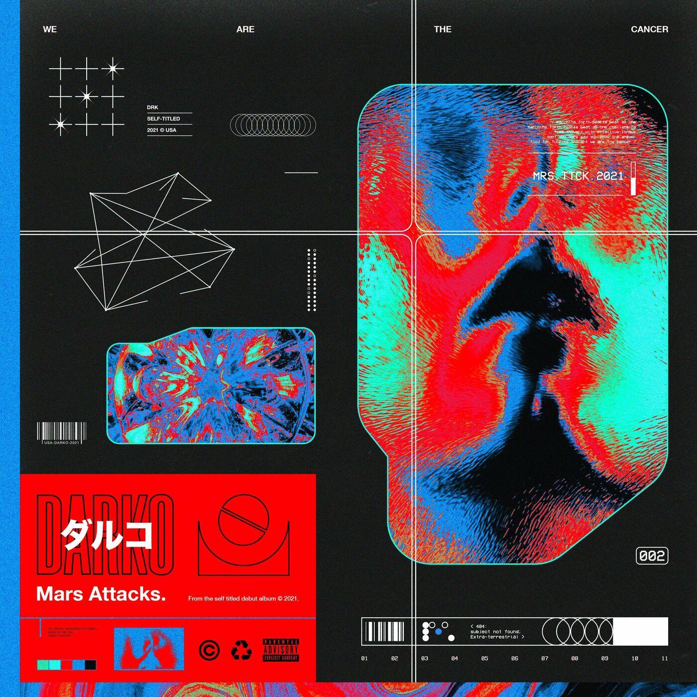 Darko US - Mars Attacks [single] (2021)