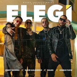Download Rauw Alejandro, Dalex, Lenny Tavarez, Dímelo Flow - Elegí