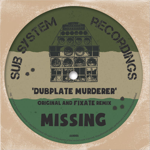 Missing - Dubplate Murderer