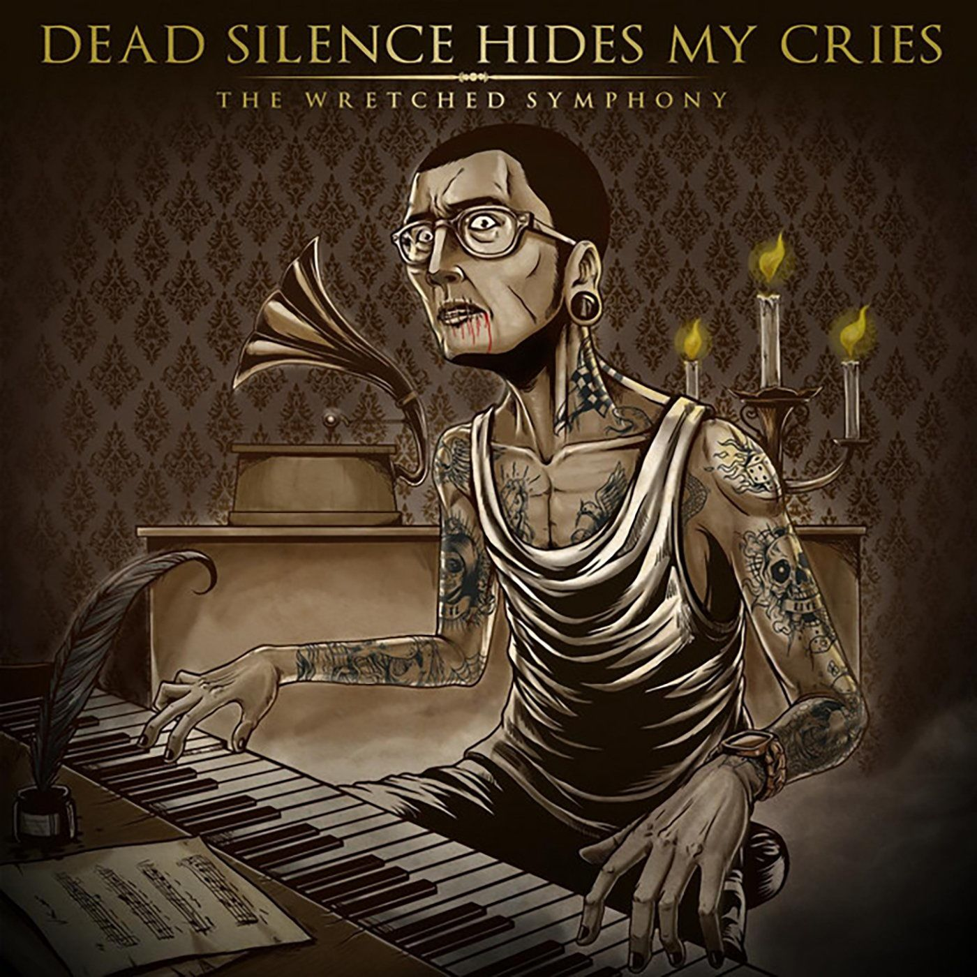 Dead Silence Hides My Cries - The Wretched Symphony (2010)