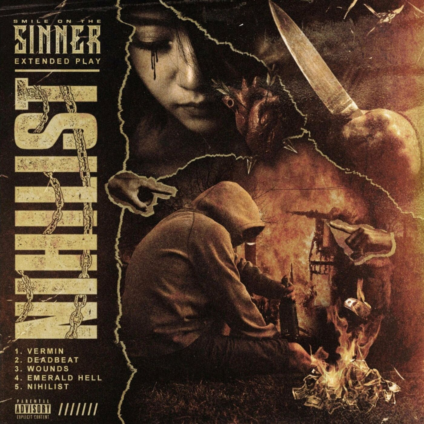Smile on the Sinner - Vermin [single] (2021)