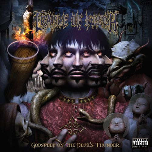 Baixar CD Godspeed On The Devil's Thunder – Cradle of Filth (2008) Grátis