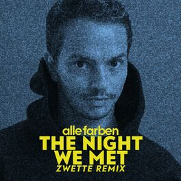 Album cover of The Night We Met (Zwette Remix)