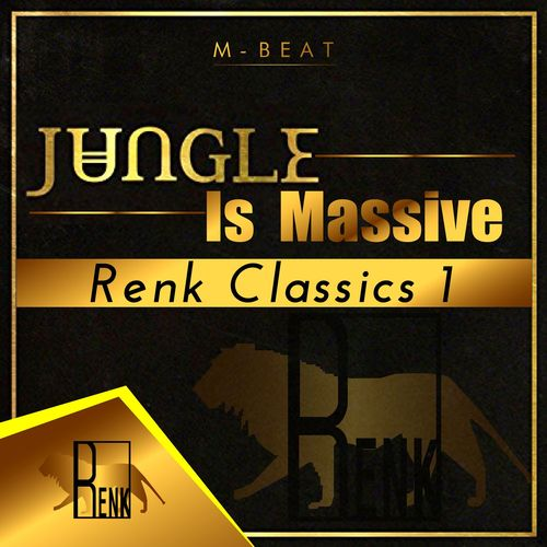 M-Beat - Jungle Is Massive Renk Classics 1 2017 [LP]