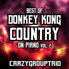 Album cover of Best of Donkey Kong Country: On Piano, Vol. 2