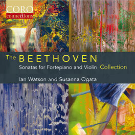 Album cover of The Beethoven Sonatas for Fortepiano and Violin Collection