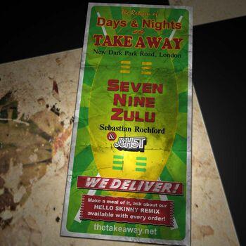 Seven Nine Zulu (Hello Skinny Remix) cover