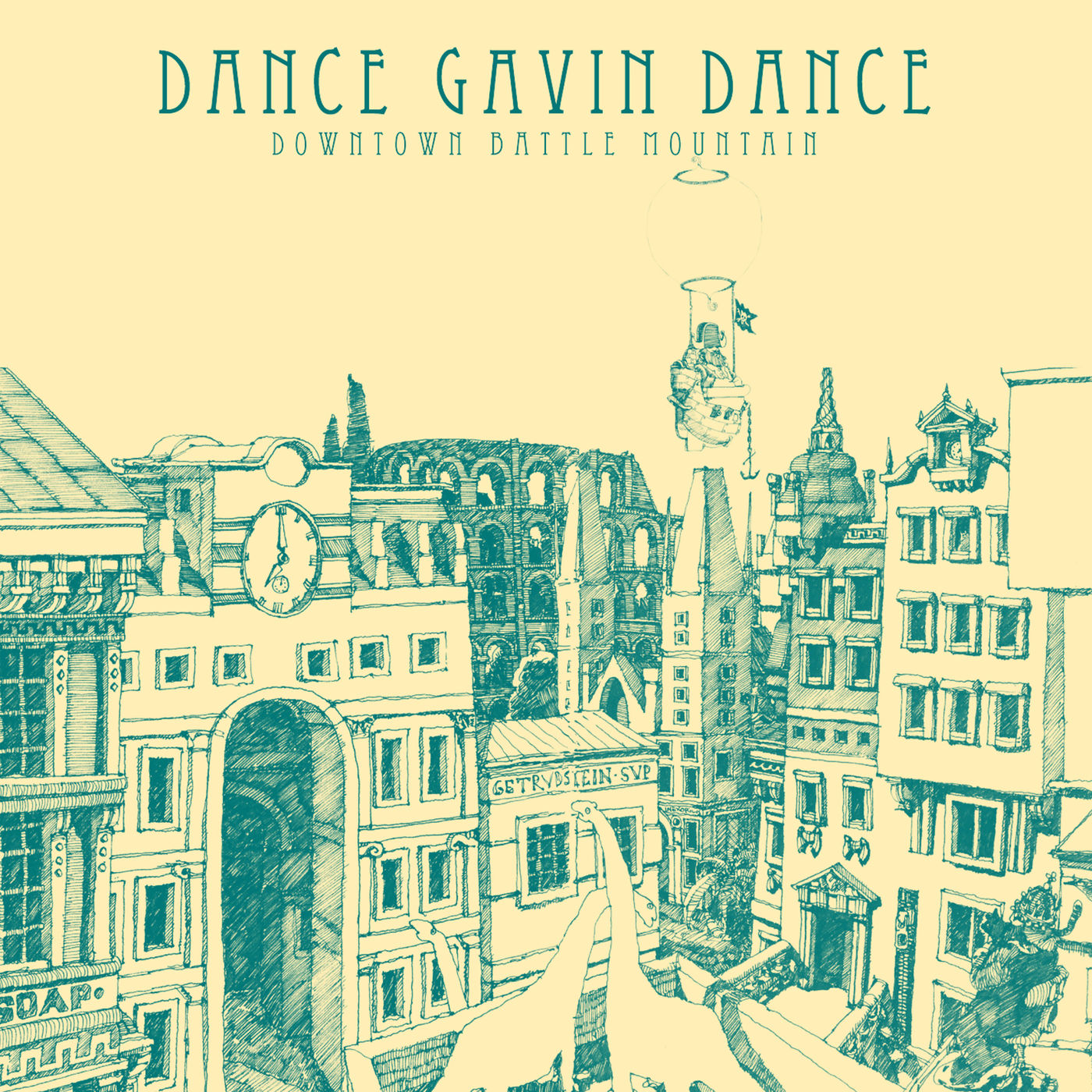Dance Gavin Dance - Downtown Battle Mountain (Instrumental) (2019)
