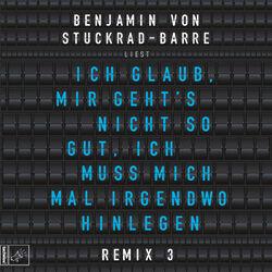 Ich glaub, mir geht's nicht so gut, ich muss mich mal irgendwo hinlegen - Remix 3 Audiobook