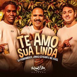 DJ Pernambuco Part. Jonas Esticado, MC Kekel – Te Amo Sua Linda CD Completo