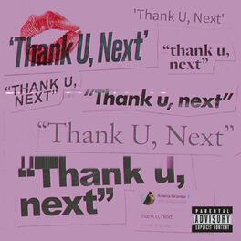 Album cover of thank u, next
