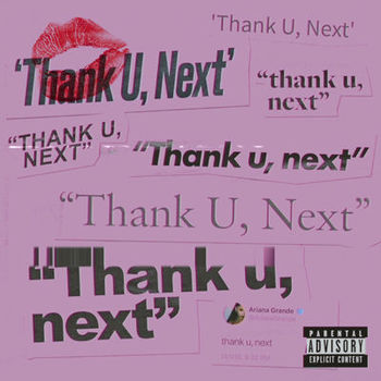 thank u, next cover