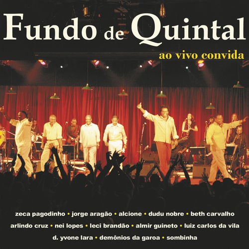 Baixar CD Ao vivo convida – Fundo de Quintal (2004) Grátis
