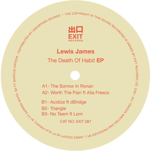 Lewis James - The Death Of Habit EP 2019