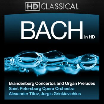 Eight Short Preludes and Fugues: III. Prelude and Fugue in E Minor, BWV 555 cover
