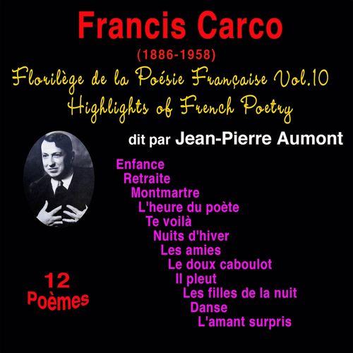 Jean Pierre Aumont Florilège De La Poésie Française Vol