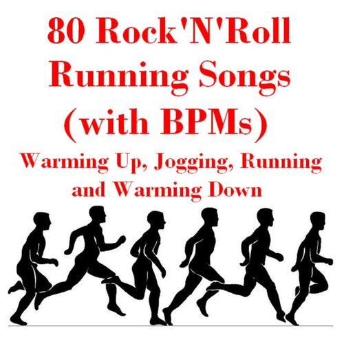 Various Artists: 80 Rock'n'roll Running Songs (with B P Ms