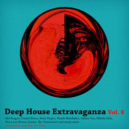 Album cover of Various Artist - Deep House Extravaganza Vol. 8 (MP3 Compilation)