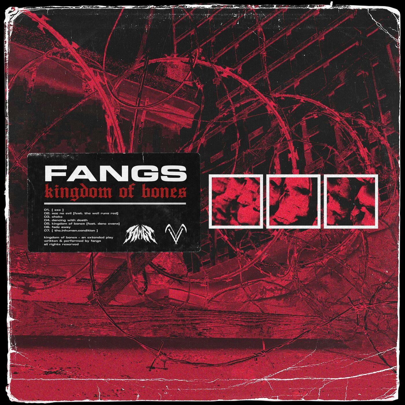 Fangs - kingdom of bones [EP] (2021)
