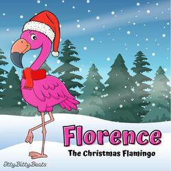 Florence the Christmas Flamingo