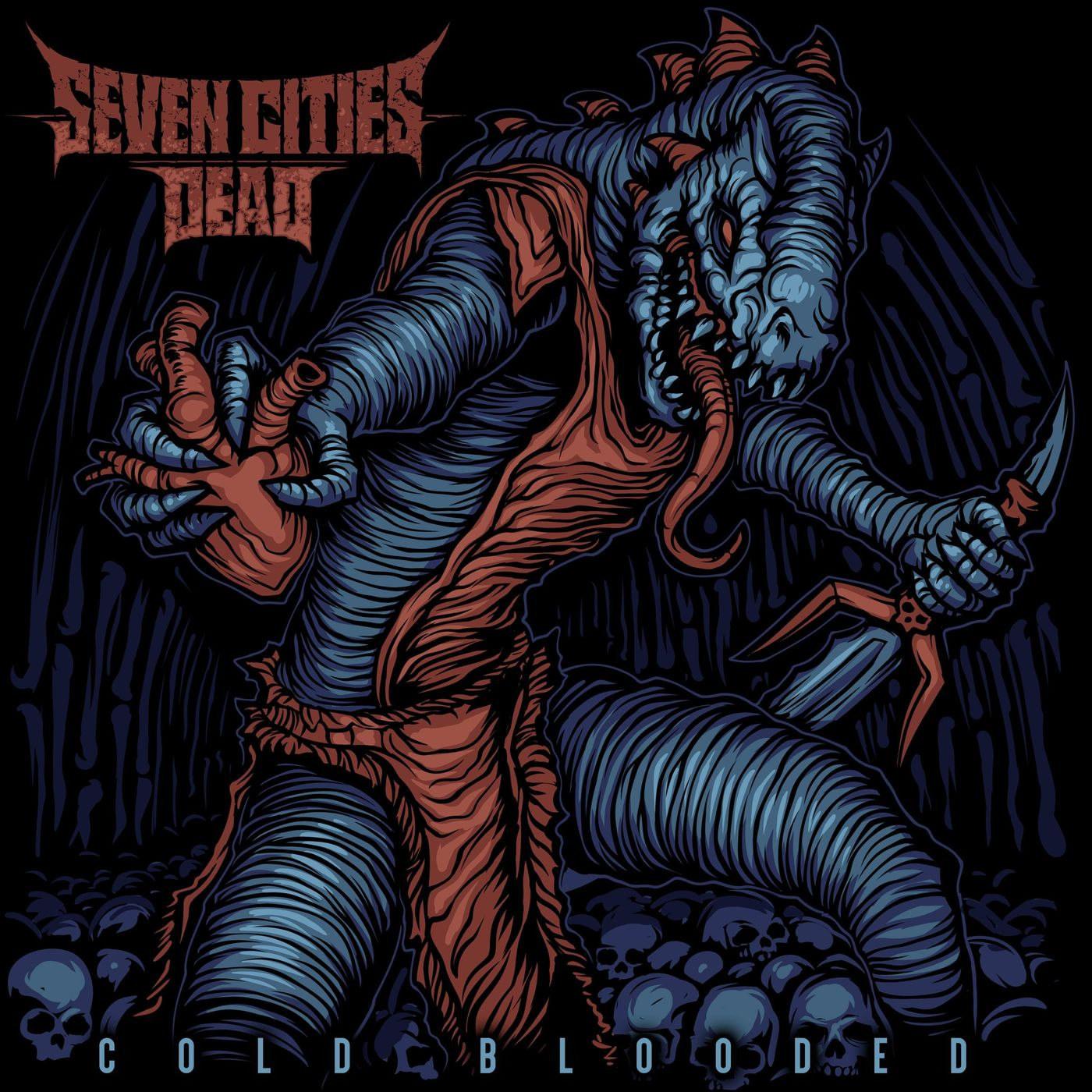 Seven Cities Dead - Cold Blooded [EP] (2021)