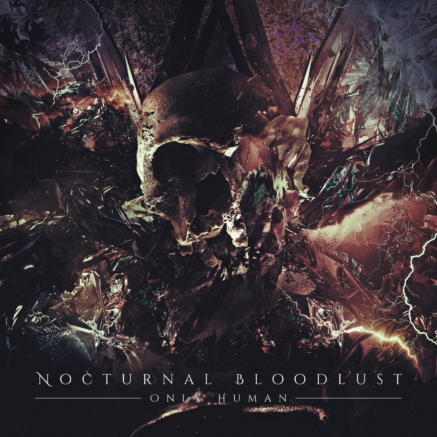NOCTURNAL BLOODLUST - ONLY HUMAN [single] (2020)