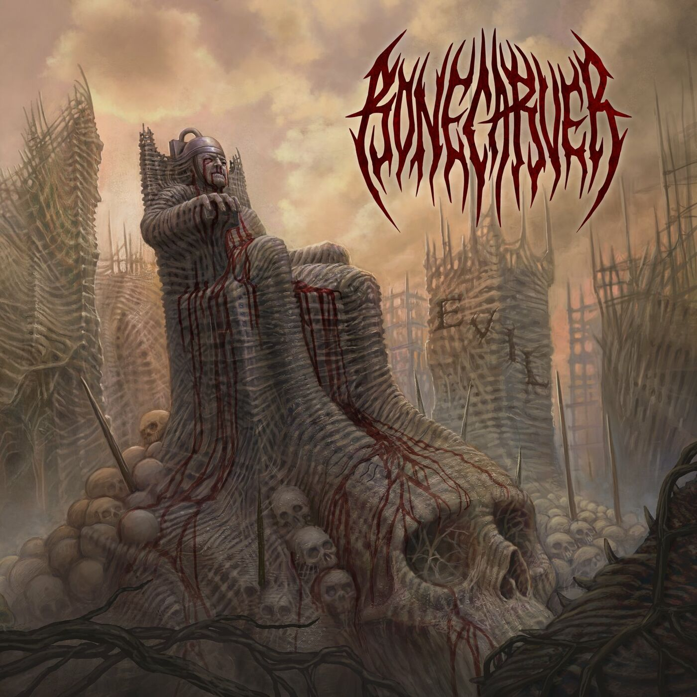 Bonecarver - Evil [single] (2021)