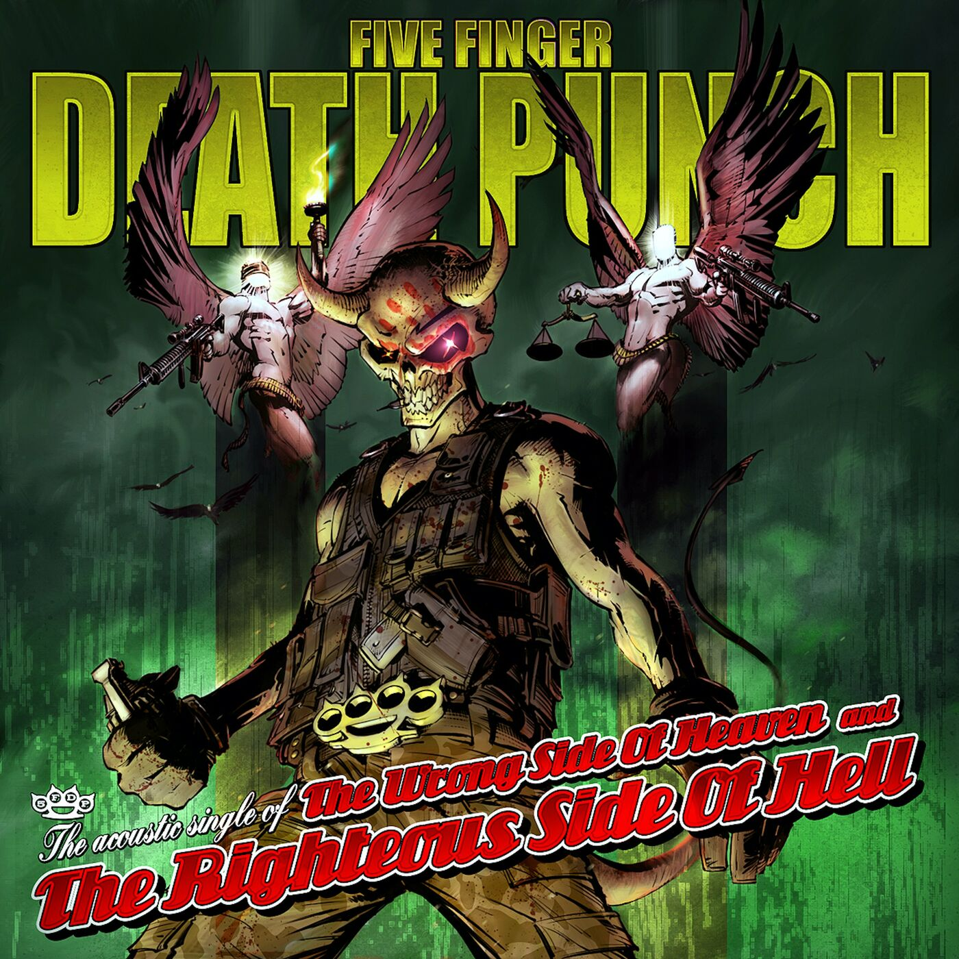 Five Finger Death Punch - Wrong Side Of Heaven (Acoustic) [single] (2020)