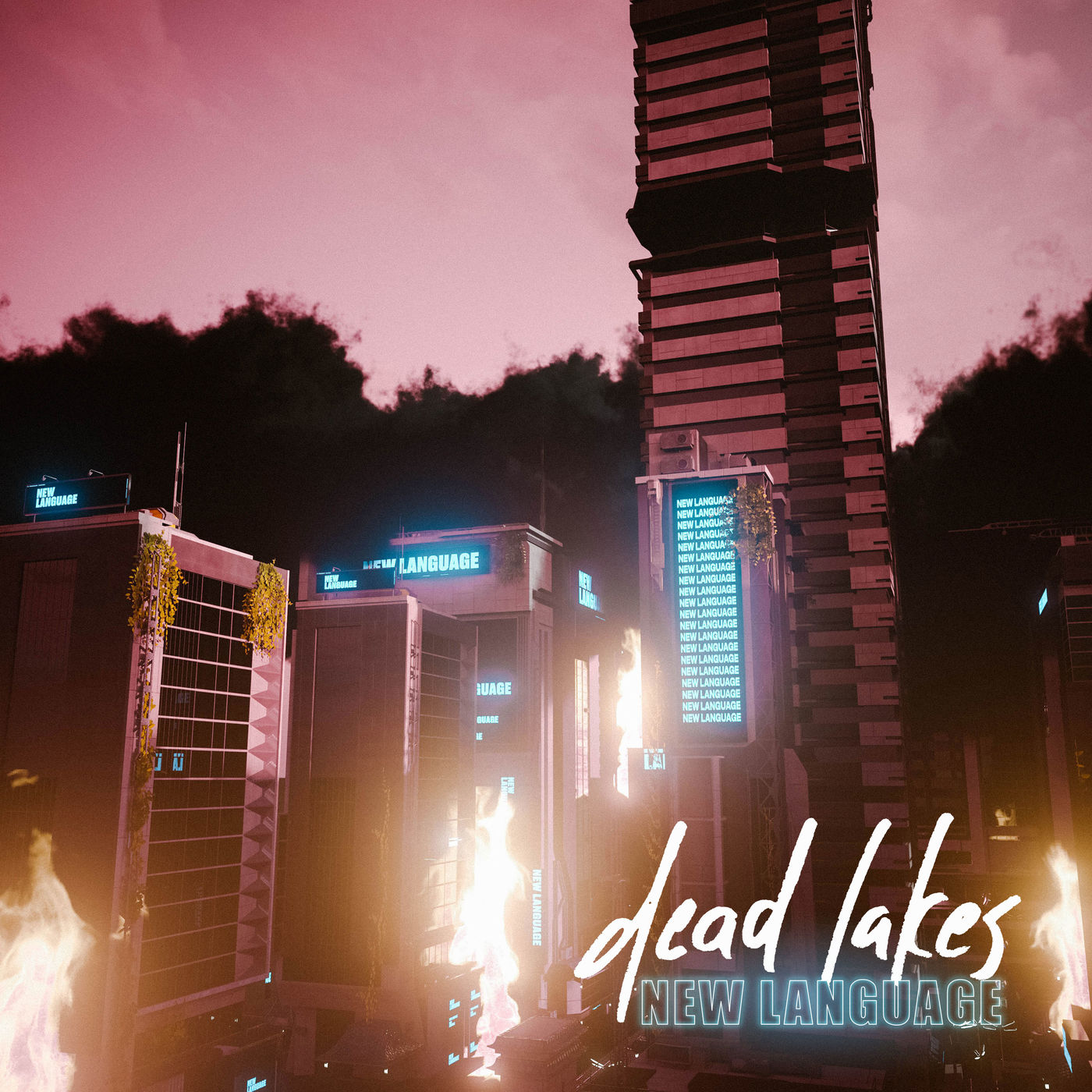Dead Lakes - New Language [single] (2020)