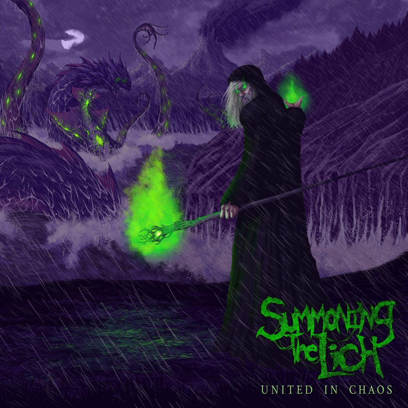 Summoning The Lich - The Nightmare Begins [single] (2021)