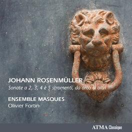 Album cover of Rosenmüller: Sonate a 2, 3, 4 e 5 stromenti da arco & altri