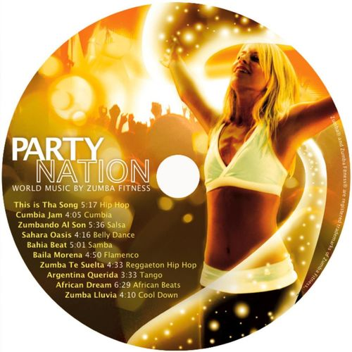 Baixar CD Party Nation: World Music By Zumba Fitness – Zumba Fitness (2008) Grátis