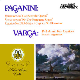 Album cover of Paganini: Variations On