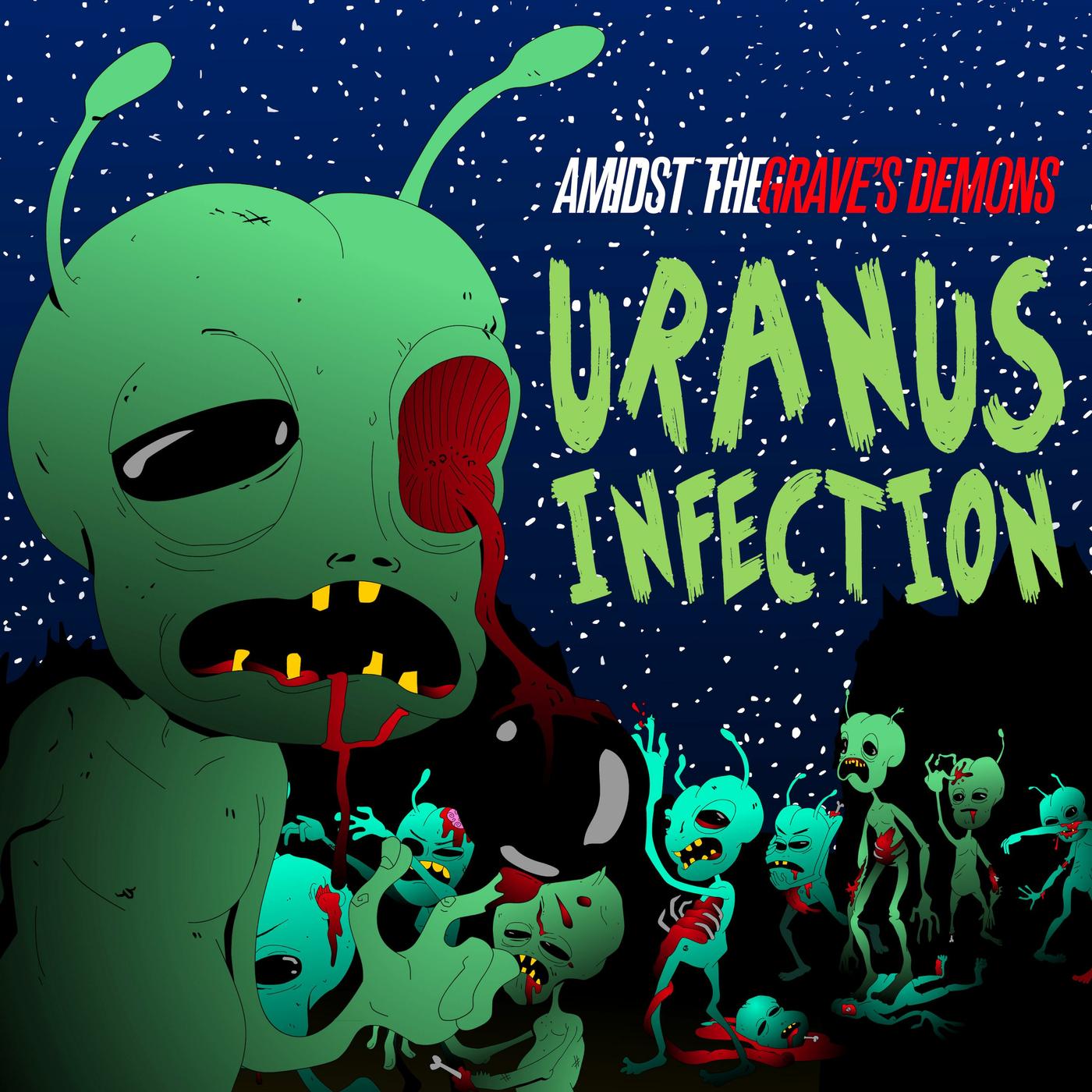 Amidst the Grave's Demons - Uranus Infection [single] (2016)