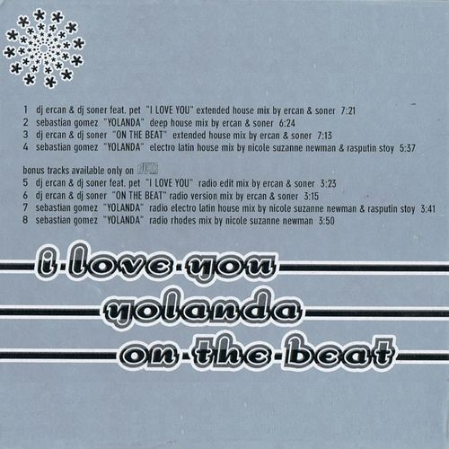 Dj Ercan: I Love You / Yolanda / On The Beat - Music
