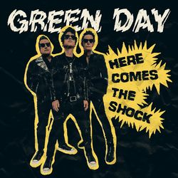 Capa Green Day – Here Comes The Shock 2021